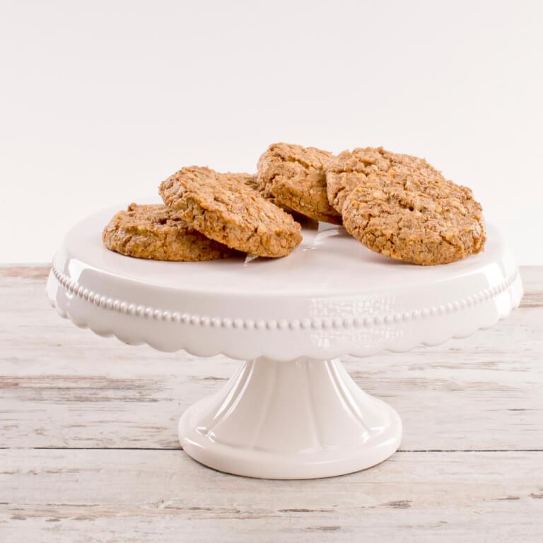 Ciastka orzechowo-migdałowe - Ciastka na wagę - Ciastka - Zdjęcie 1