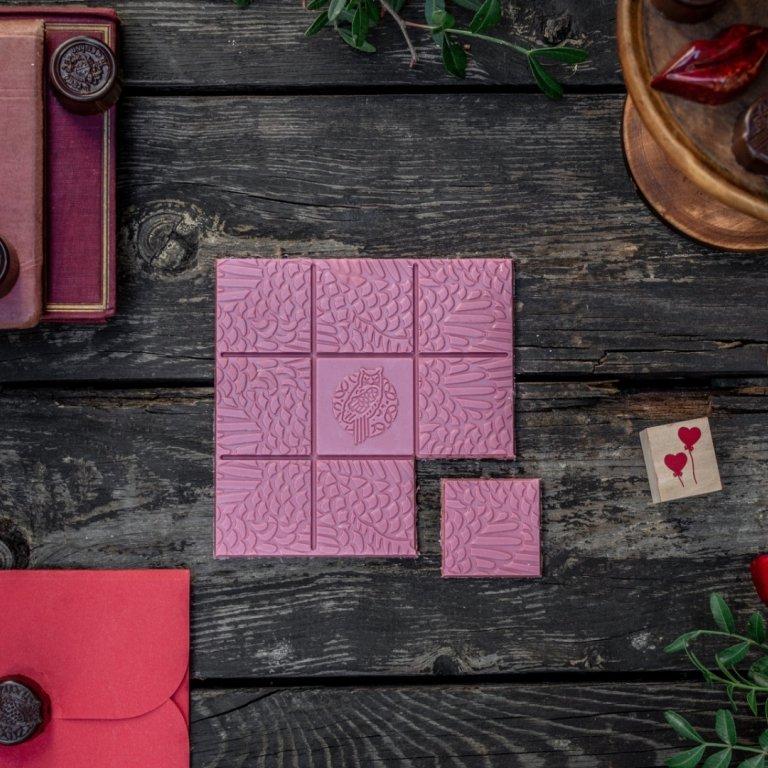 Czekolada Rubinowa - Czekolady - Galanteria czekoladowa - Zdjęcie 1