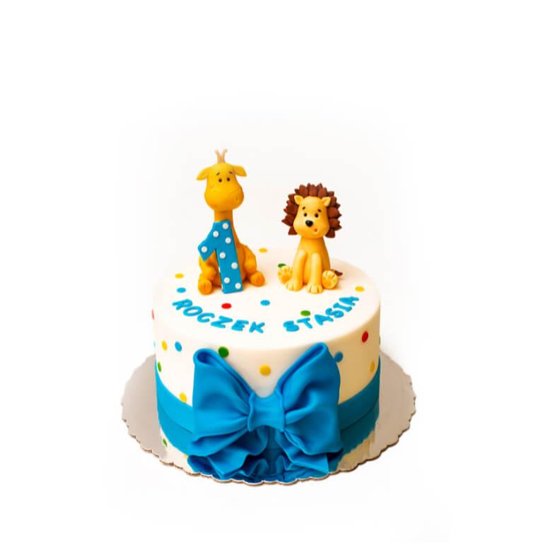 Tort Lew i Żyrafa