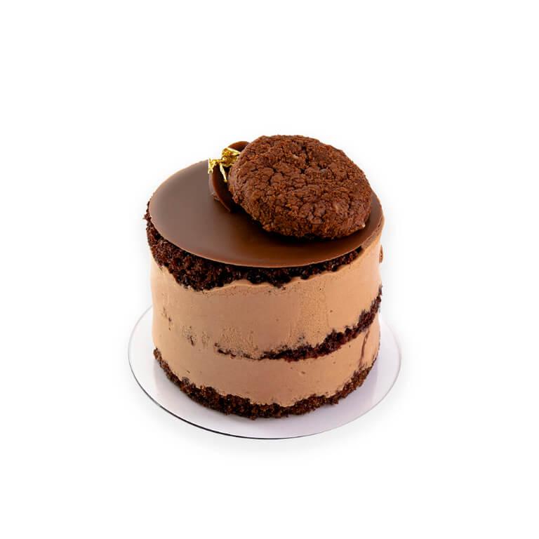 Naked cake mini (czekoladowy)