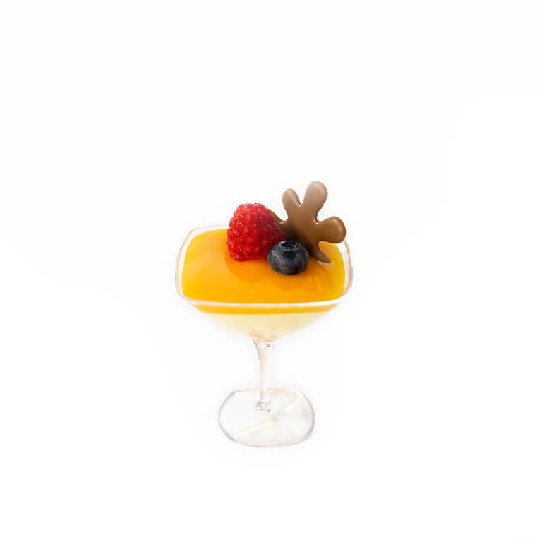Deser lux mango-marakuja
