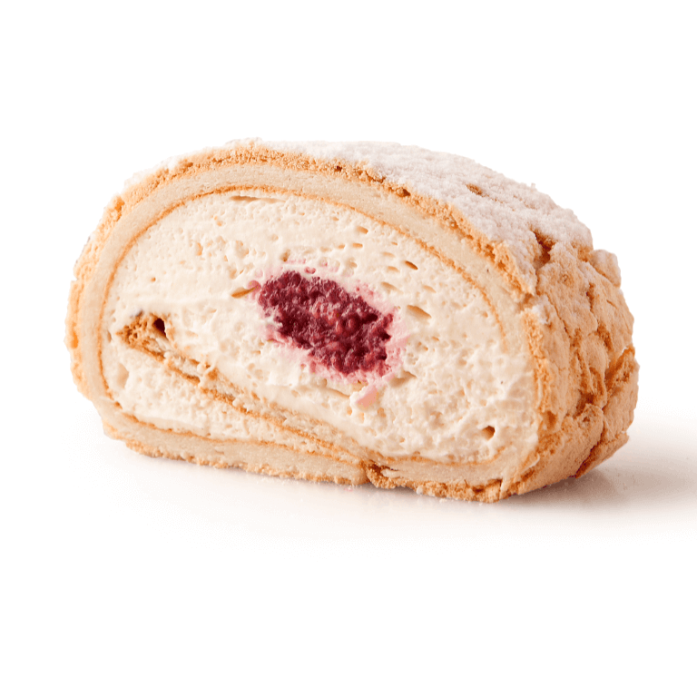 Meringue roulade delight
