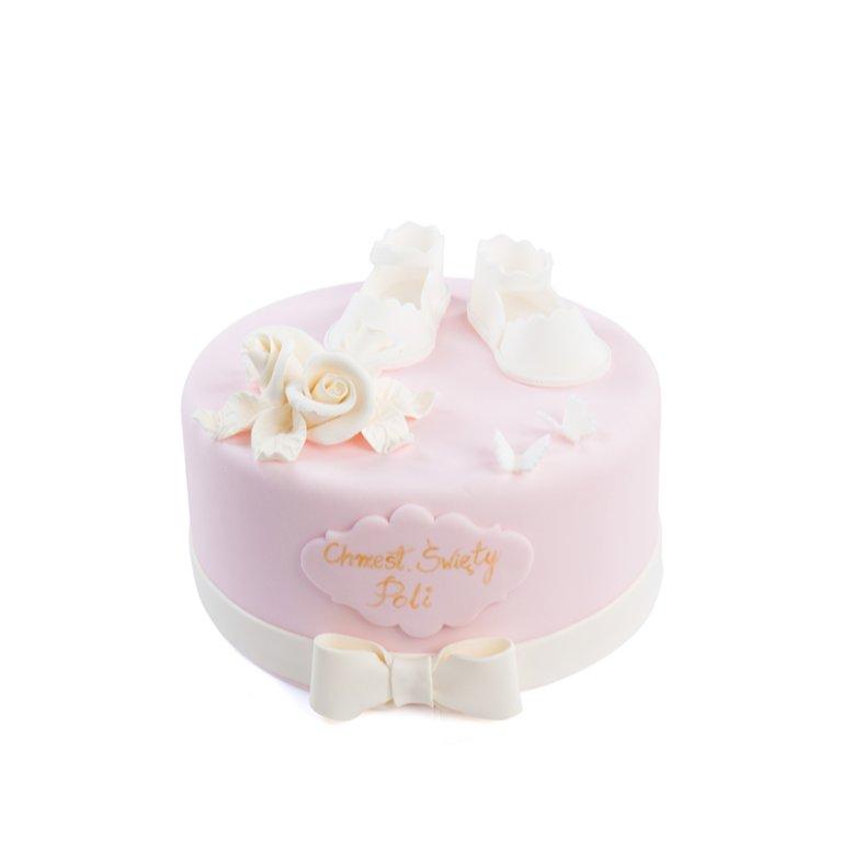 Tort Buciki Dziewczynka