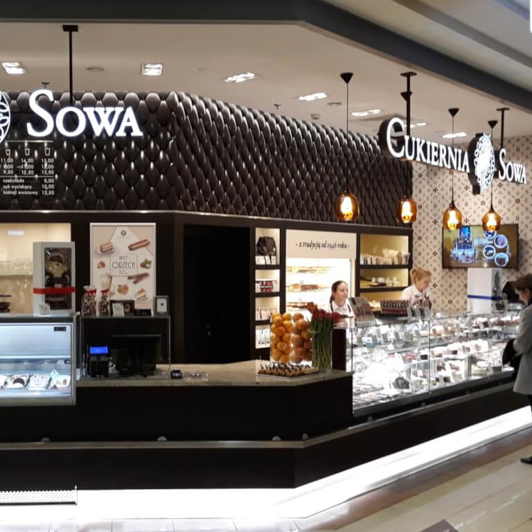 Cukiernia Sowa Warszawa - ul. Powsińska  31 - Zdjęcie 1