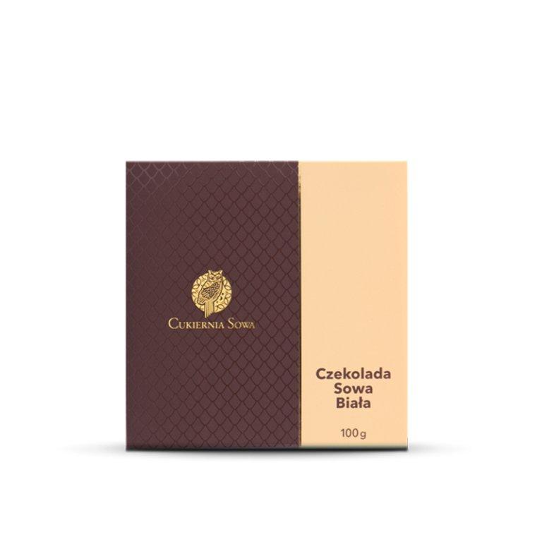 Czekolada Sowa Biała - Czekolady - Galanteria czekoladowa