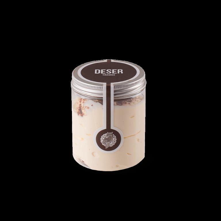 Tiramisu Dessert in a jar