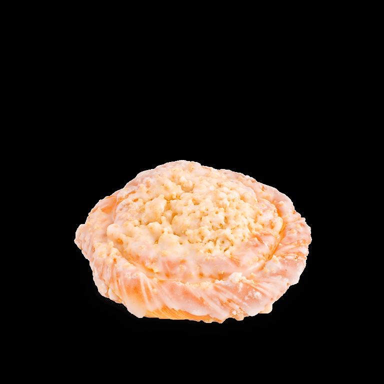 Sweet bun with crumble