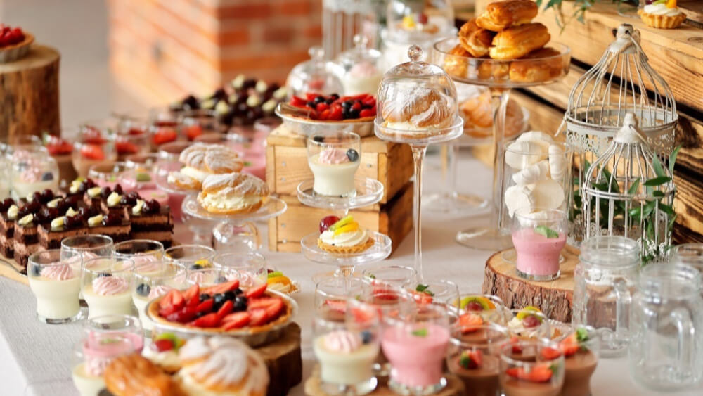 3 powody, dlaczego warto zamówić słodki bufet na event firmowy