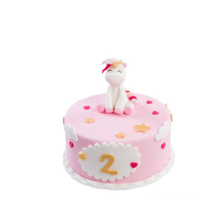 Tort Jednorożec Dziewczynka