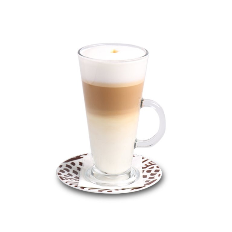 Latte macchiato (large)