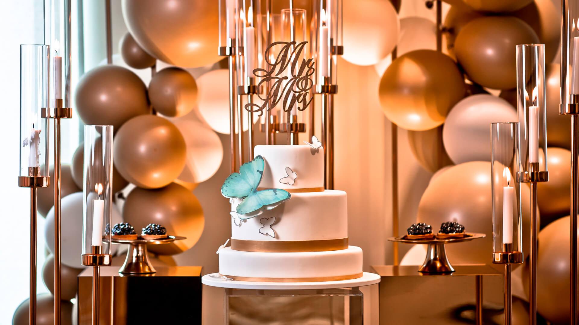 Inspiracje na wyjątkowe torty weselne, których nie zapomną Twoi goście