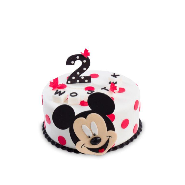 Tort Myszka Chłopiec w Kropki