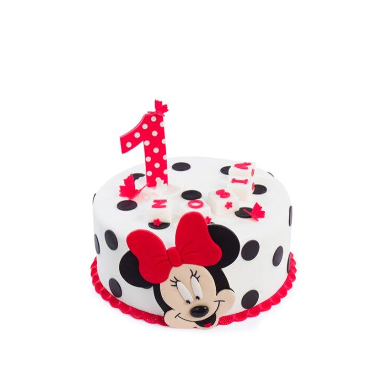 Tort Myszka Dziewczynka w kropki
