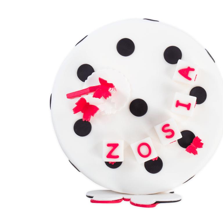 Tort Myszka Dziewczynka w kropki - Torty ekstradekoracyjne - Torty - Zdjęcie 1