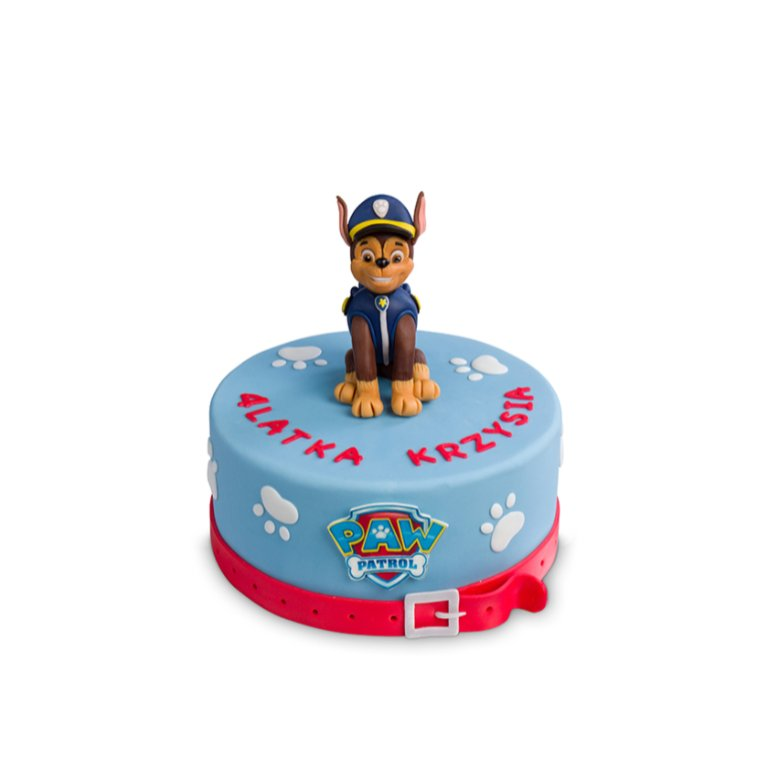 Tort Patrol Pies Niebieski