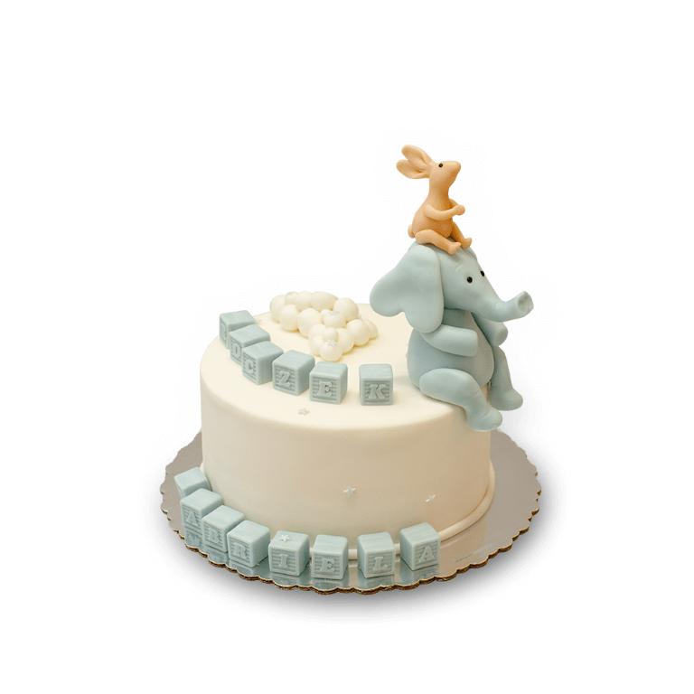 Tort Słonik i króliczek