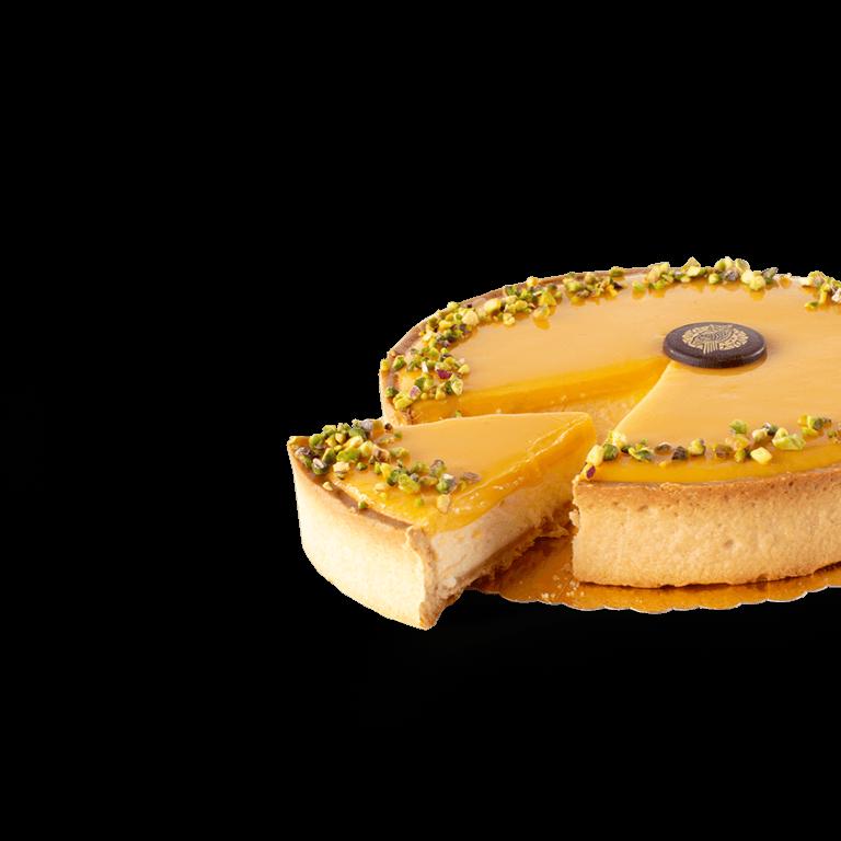 Mango-passion friut Tart