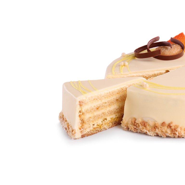 Tort chrupiąca cytryna