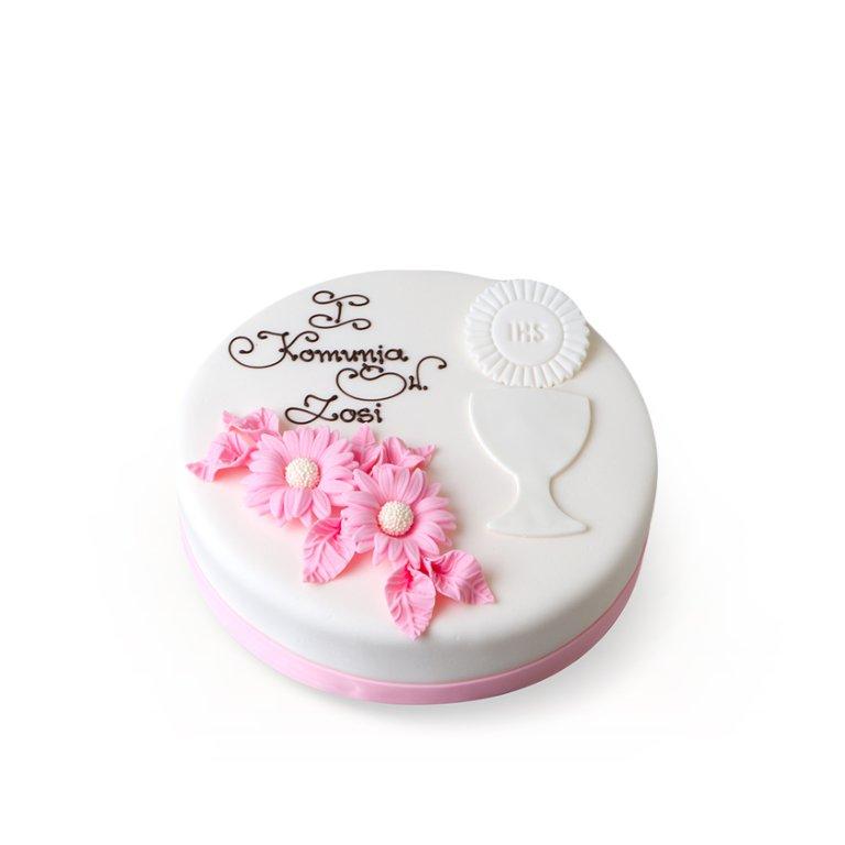 Tort dekoracyjny okrągły