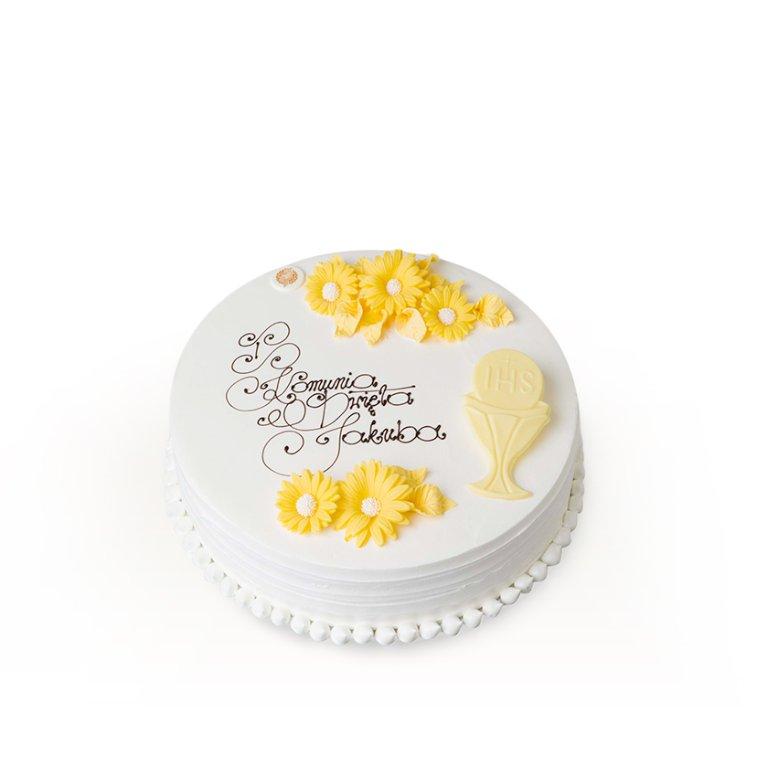 Tort dekoracyjny okrągły rustrykalny II