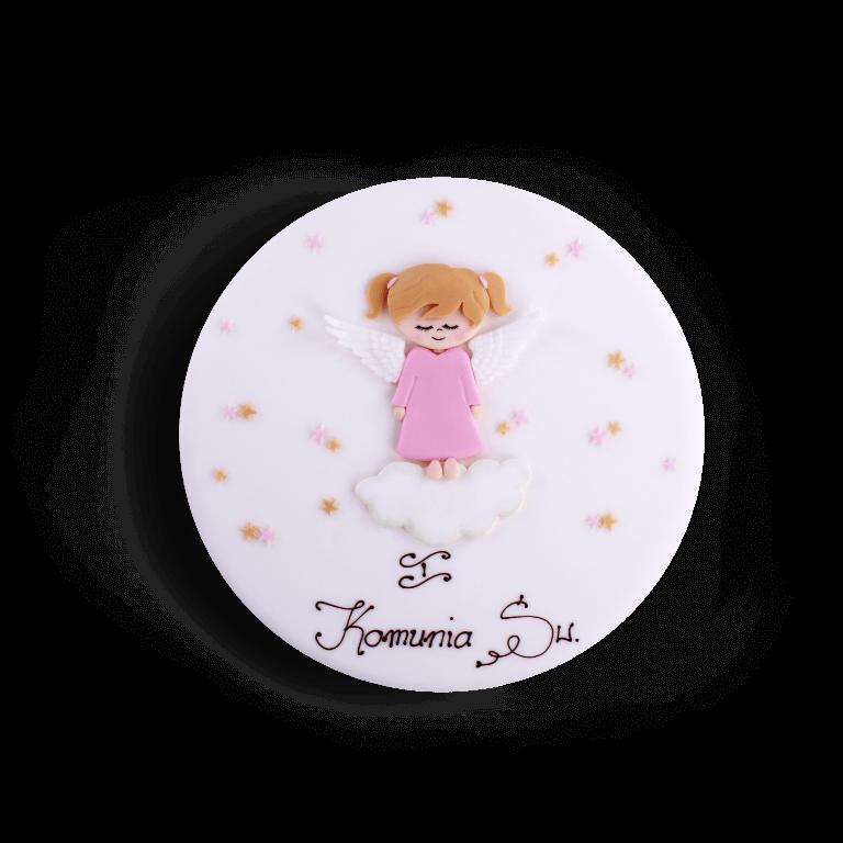 Tort dekoracyjny Dziewczynka Aniołek