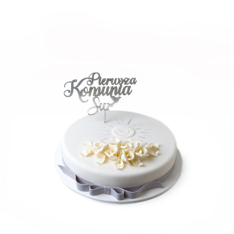 Tort premium okrągły z hostią