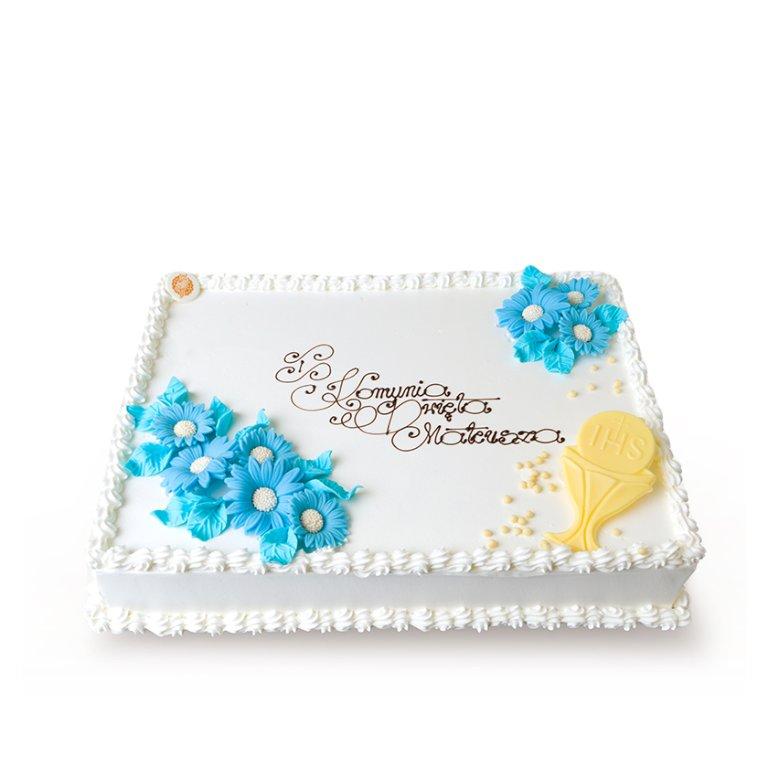 Tort dekoracyjny prostokątny klasyczny