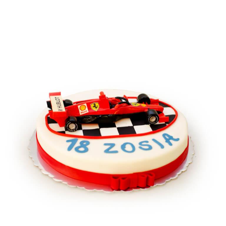 Tort Czerwona Wyścigówka